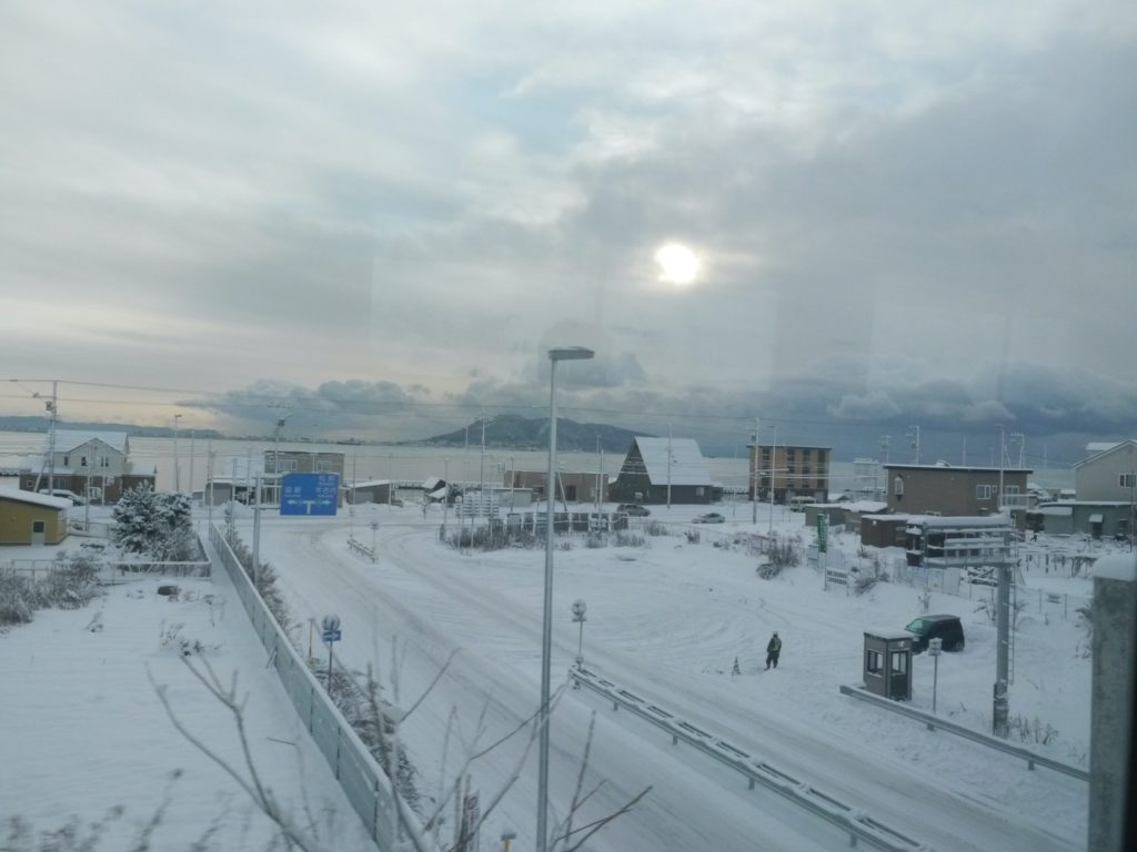 Hokkaido snow