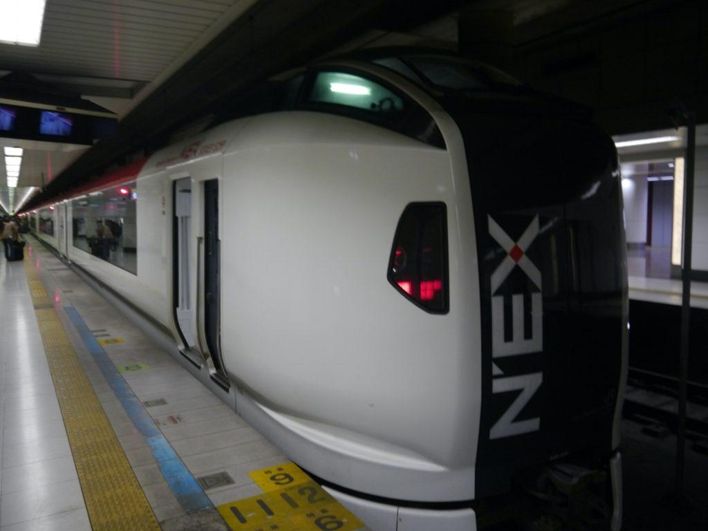 NEX train front