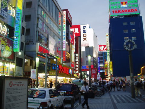 Akihabara in the evening