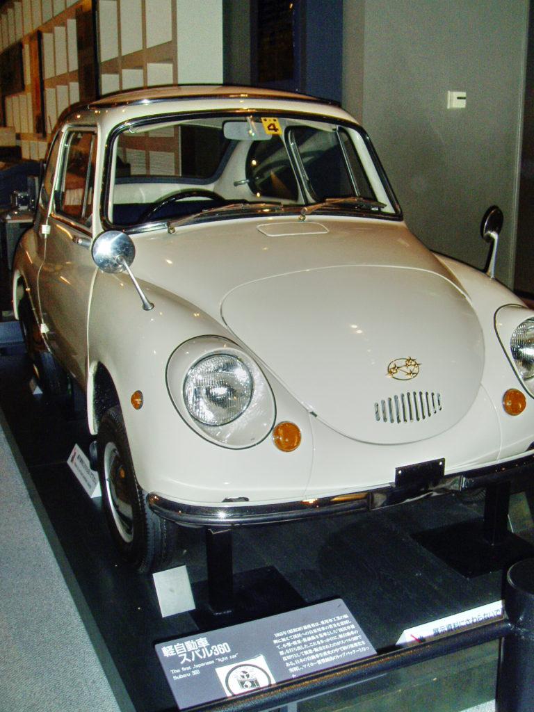 Old Japanese car