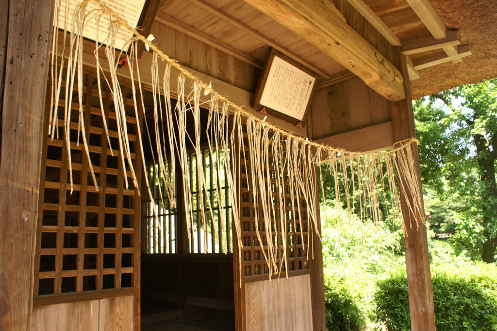 Nihon Minka-en: Entrance of a traditional house