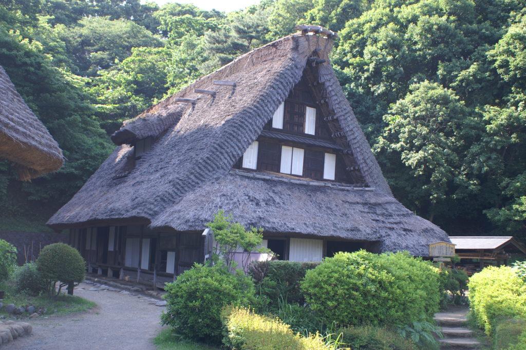 Old Japanese house at the Nihon Minka-en
