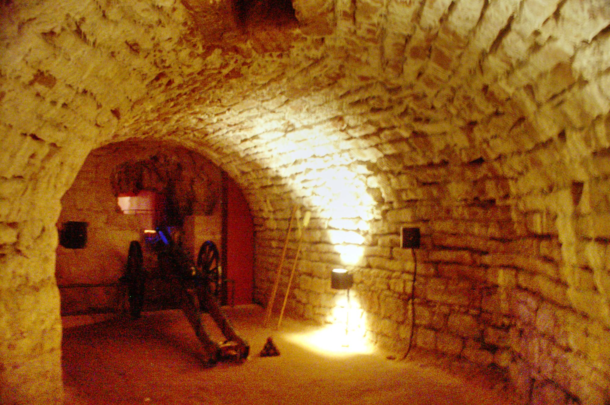 Saarbrücken historical museum - underground