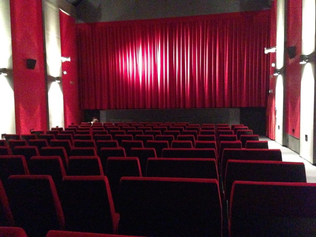 Studio Kino, inside the empty cinema